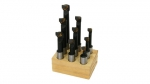 "Boring Bar Set, 3/4"" Shank, Carbide"