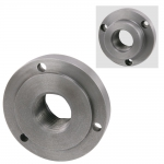 "Chuck Adapter, 1-1/2""-8 Thread 4"" Diameter, 3 Holes"