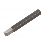 "Tool Bit, 1/4"" 45 Degree Chamfer, Presharpened"