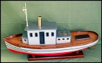 Buffalo Pup Steam Tug Boat Plans