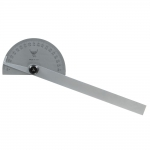 Protractor, Semi-Circle Head, Stainless, PEC