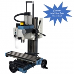 3990 HiTorque Mini Mill with Solid Column