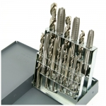 Tap & Drill Combo Set, 18 Pieces HSS