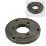 "Adapter, 5"" Lathe Chuck to C8 Spindle"