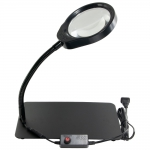 Magnifier, 8x, Desktop, LED Light
