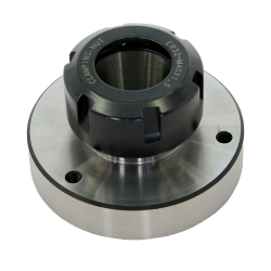 Flange mount collet chuck