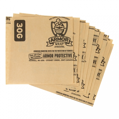 Armor Wrap 30G Corrosion Inhibiting Paper, 10 Sheets