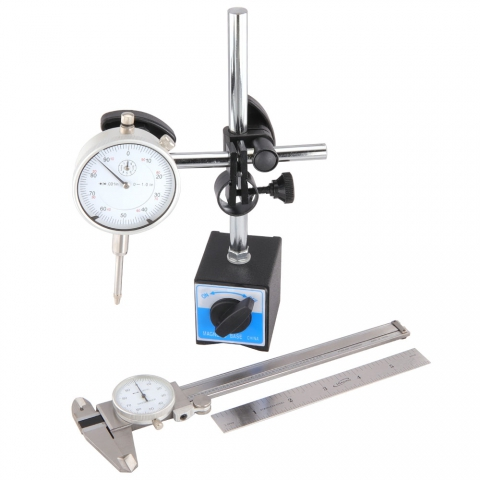 Measurement Starter Kit with Dial Caliper