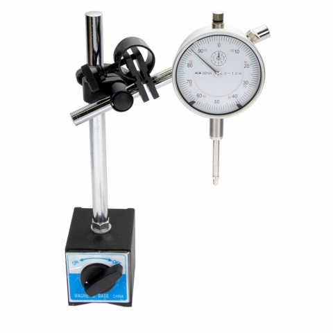 Dial Indicator and Magnetic Base