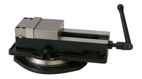 "Vise, 4"" Precision Milling, Heavy, with Swivel Base"