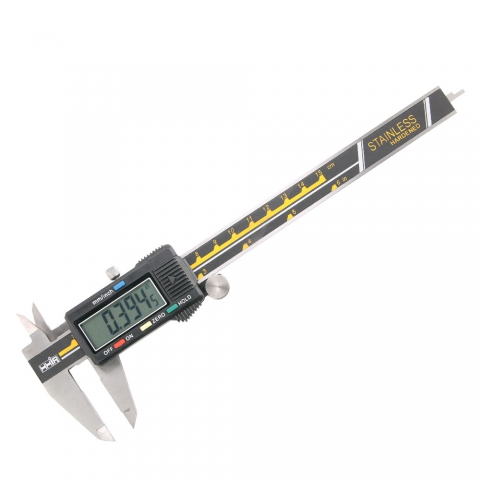 "Electronic Digital Caliper 6"", 4 Buttons"