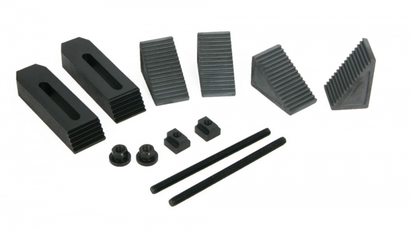Clamping Kit, 8 mm T-Slot, 12-Piece