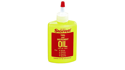Tool and Instrument Oil, Starrett
