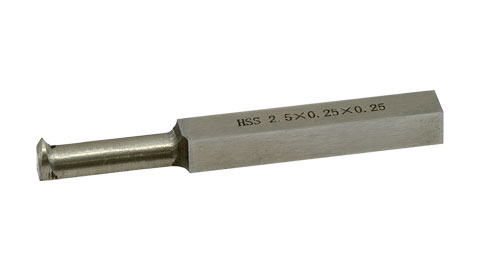 "Tool Bit, 1/4"" HSS Internal Threading"