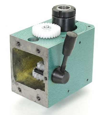 Mini Mill Spindle Box Assembly, R8