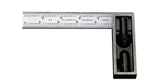 "Double Square, 6"" 4R, Starrett"