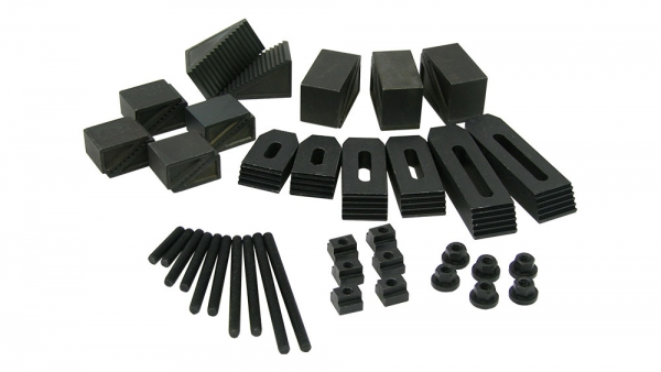 Clamping kit, 8 mm T-Slot, 36-Piece
