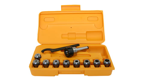 Collet & Chuck Set, ER-25, 2MT