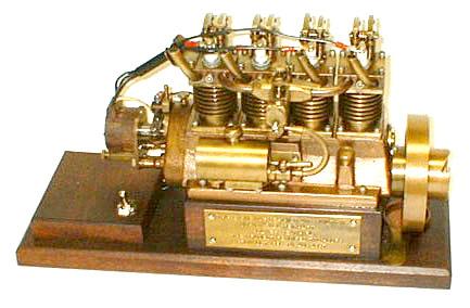 Kits de moteurs à vapeur miniatures de travail, fonctionnement, image de moteur gratuite pour le téléchargement du manuel