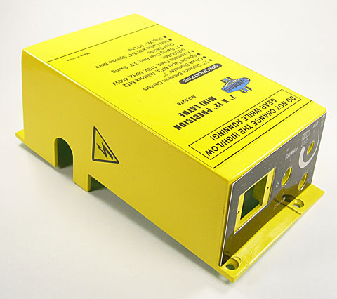 Control Box (Cummins Yellow)