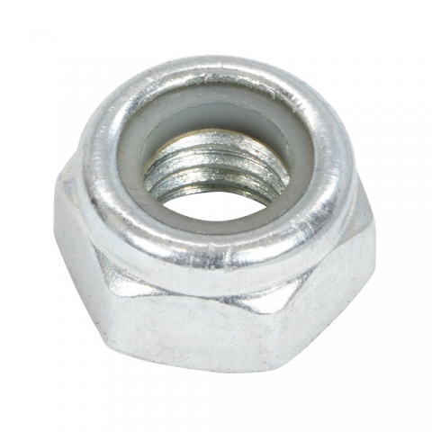 Nut, M8 Nylon Insert Lock
