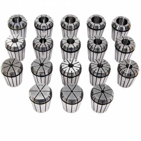 Collet Set, ER-32, Set of 18