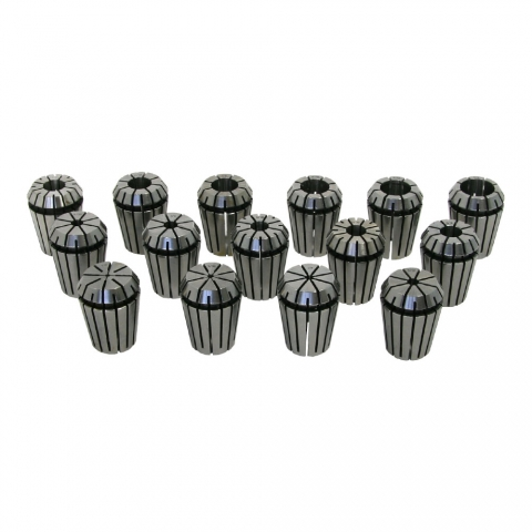 Collet Set, ER-25, Set of 15