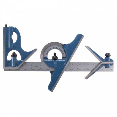 "Combination Square Set, 12"", PEC"
