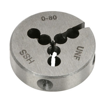 Dies, Round Adjustable, Individual Sizes