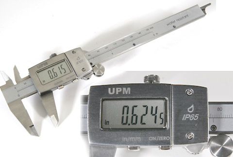 "Electronic Digital Caliper, 6"" IP65 Stainless"