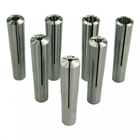 Collet Set, 7BS, Set of 7