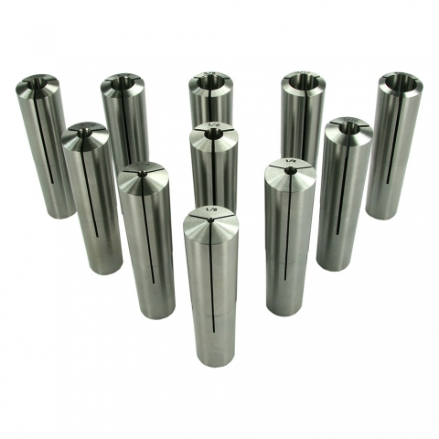 Collet Set, 9BS, Set of 11