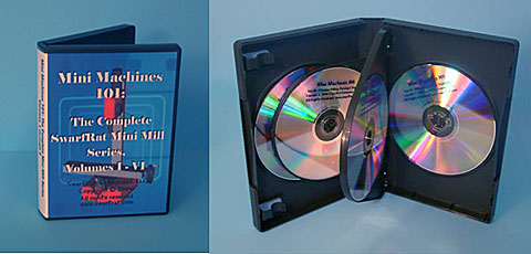 DVD: Mini Machines 101 Complete Mill Series