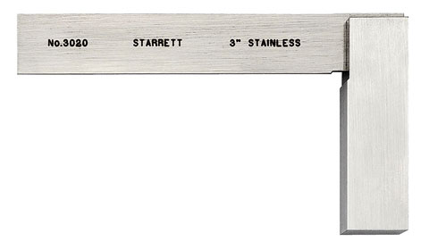 "Square, 3"" Toolmakers, Starrett"