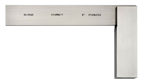 "Square, 6"" Toolmakers, Starrett"