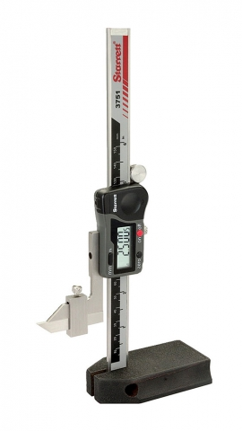 "Height Gage, 6"", Digital, Starrett"
