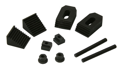 Clamping Kit, 8 mm T-Slot, 10-Piece