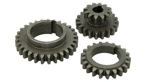 Transmission Gear Kit, R8 Mini Mill, Metal