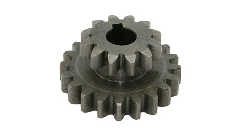 Gear, 2-Speed Intermediate Shaft, Metal