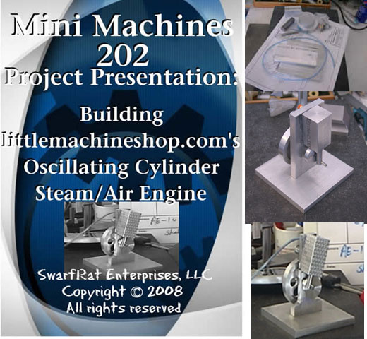 DVD: Building the Oscillating Cylinder Steam/Air Engine