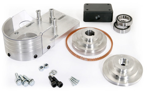Belt Drive Conversion Kit, Micro Mill