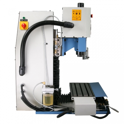 3501 CNC Milling Machine left side