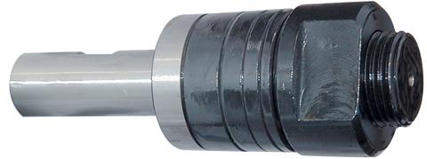 1//2 Shank Diameter 1 Shoulder to Nut Milling Machine Arbors F/&D Tool Company 31095 Straight Shank Stub 5//8 Arbor Diameter
