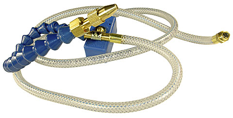 "Coolant Line Assembly, 48"" Braided & Loc-Line"