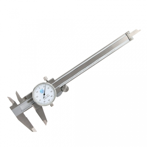 "Dial Caliper, 6"" Industrial Quality"