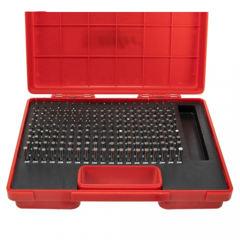 "Pin Gage Set, 0.061"" to 0.250"" Minus"