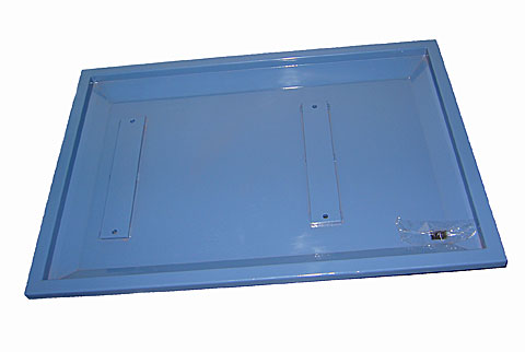 Coolant Catch Tray Assembly, Machine