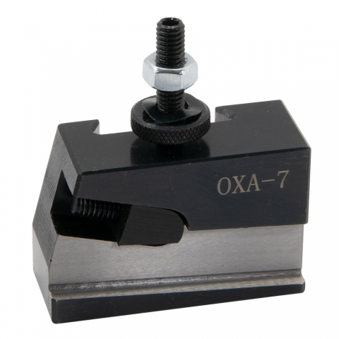 Quick Change Cut-Off Tool Holder, 0XA, 4-Degree Cut-Off