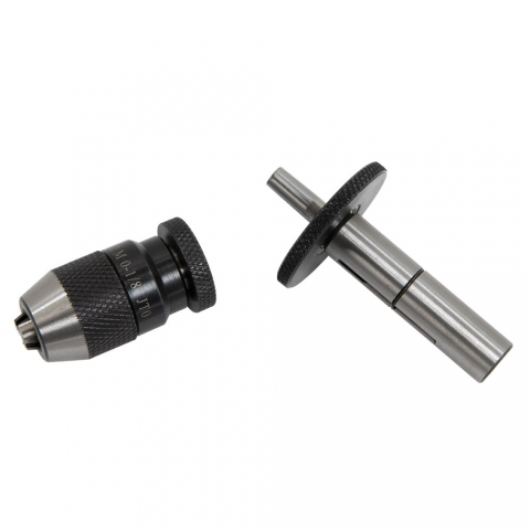 Sensitive Drill Feed and 1~8in (3 mm) Keyless Drill Chuck