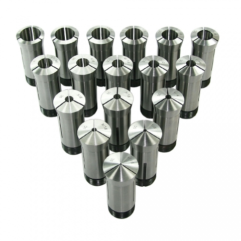 Collet Set, 5C, Set of 17